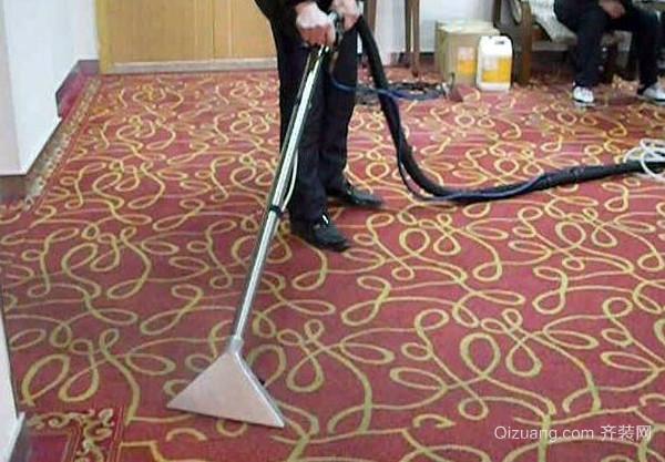 大面积地毯怎么清洗