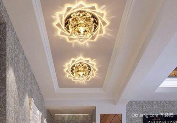 走廊装什么灯好看 安装有哪些注意事项
