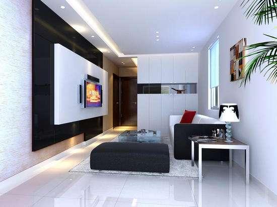 电视背景墙装修色彩搭配原则!