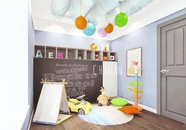 十款儿童房设计方案 儿童房装修效果图大全