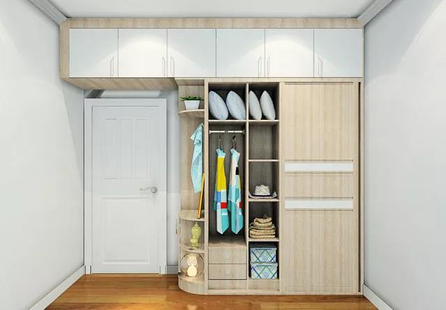 卧室衣柜样式设计效果图 卧室衣柜怎么摆放