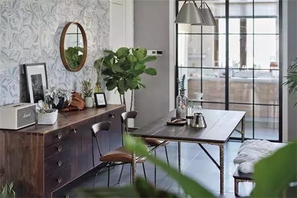 175㎡北欧风,还有超好看的复古家具