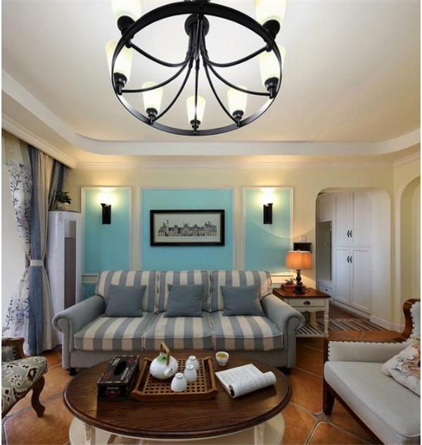 124㎡新房装修,客厅变成原来两倍大!