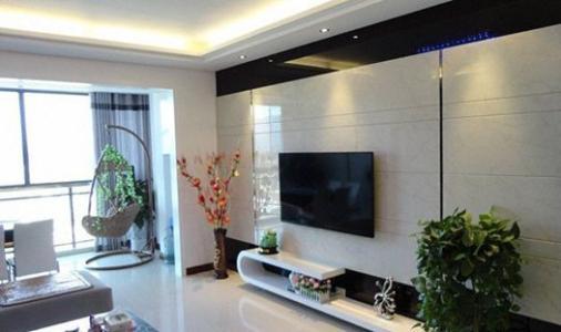 瓷砖电视墙怎样安装显大气