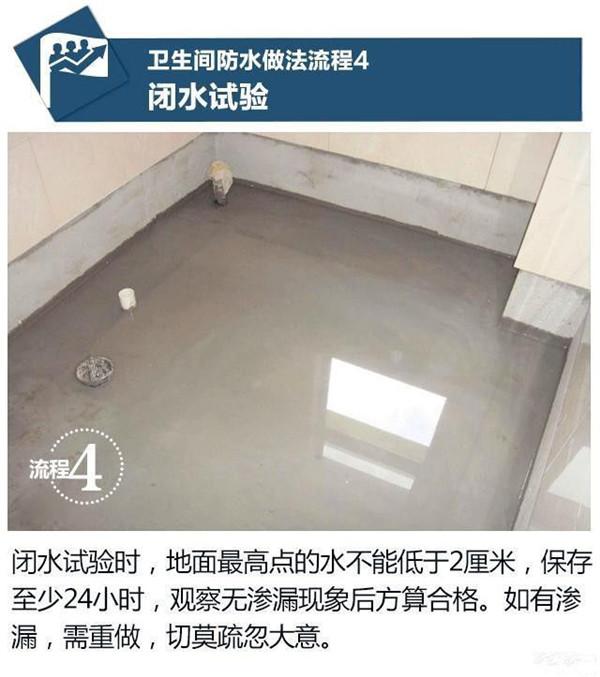 家装防水施工步骤4