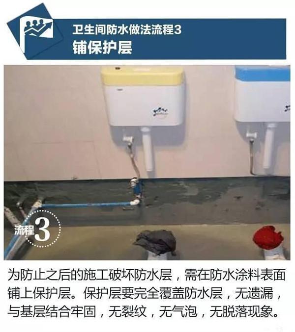 家装防水施工步骤3