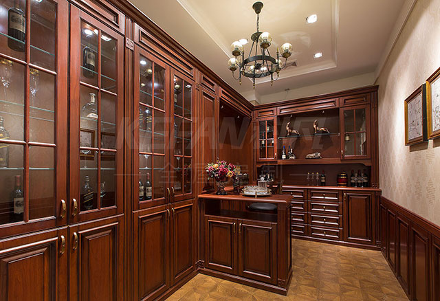 中式装修酒柜设计优点 装修酒柜注意事项