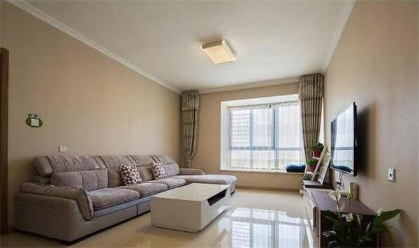 80㎡新房装修只花八万 墙面刷乳胶漆照样简单大方