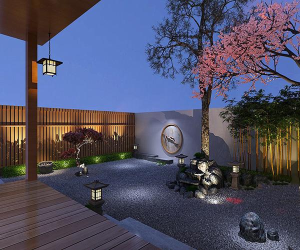 日式庭院�b修