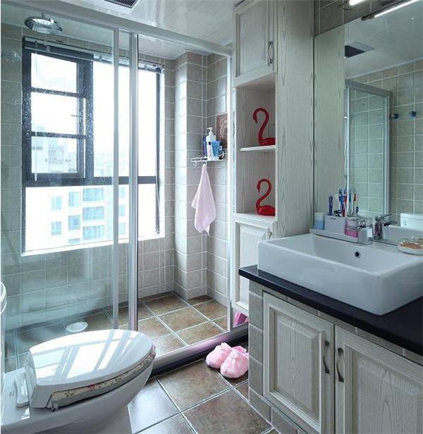 西安120平现代美式新房装修案例 连家电花费30万
