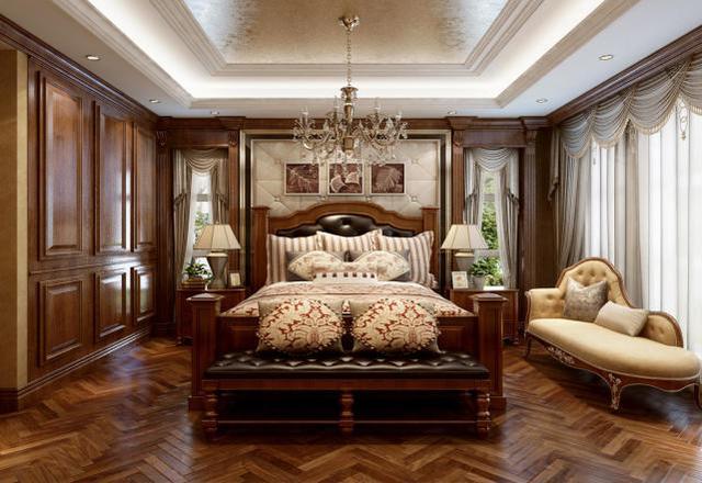 240㎡法式風格臥室裝修設計
