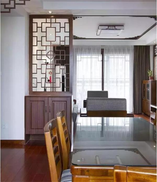 130㎡中式风格设计,低调不失优雅!
