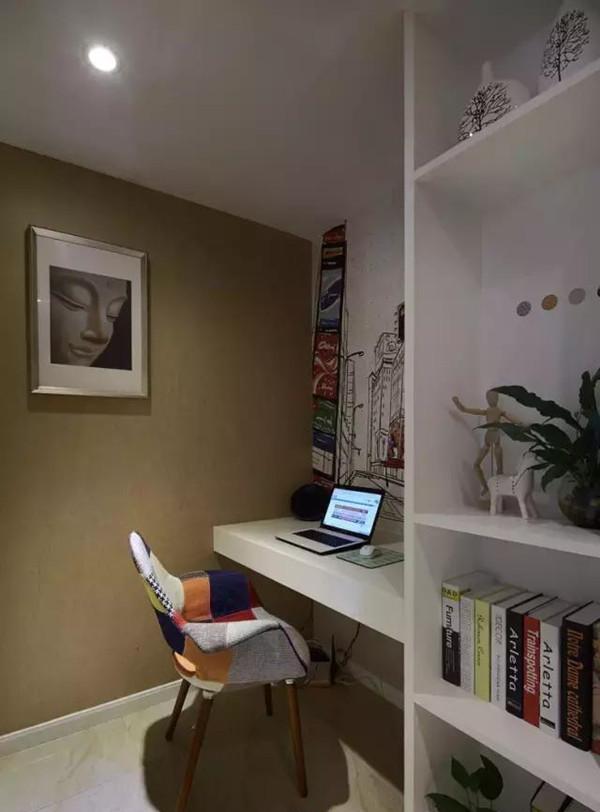 自由混搭风格书房设计