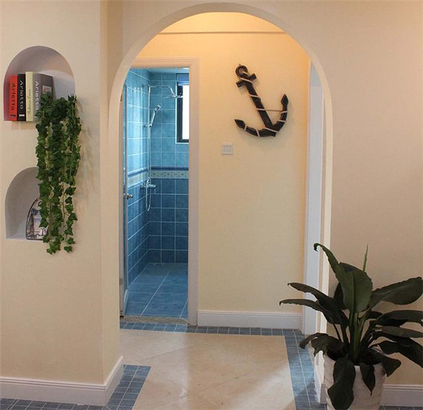 吴江78平两室装修案例 清新装饰加配色如沐春风