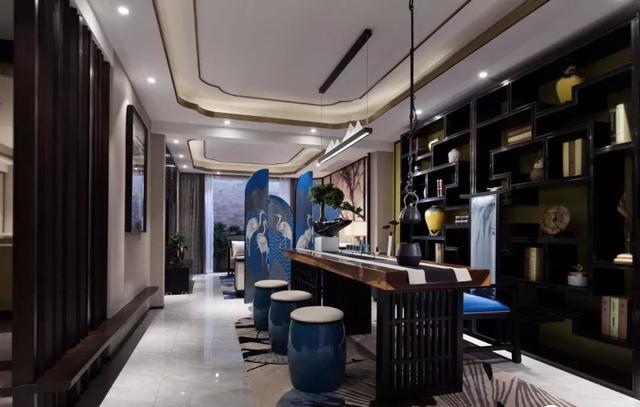 新中式风格茶室设计