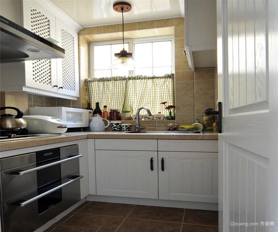 厨房装修色彩搭配