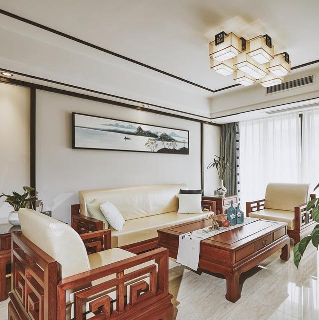 新中式风格客厅装修设计