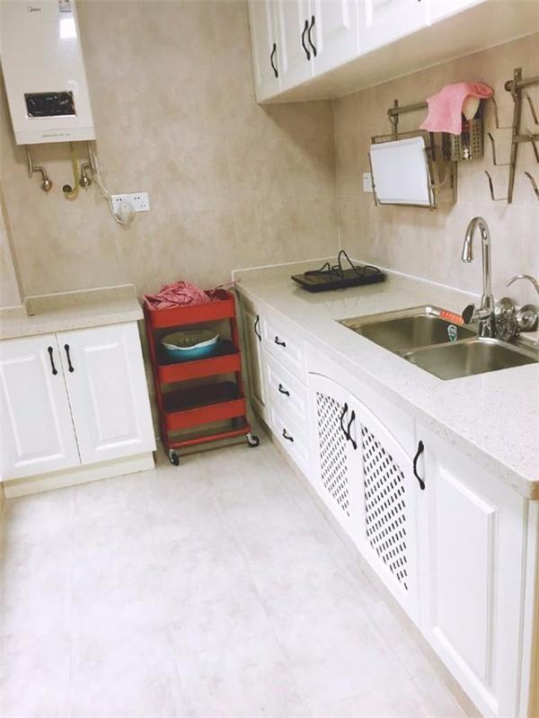 泗洪120平婚房装修案例 清新的粉蓝相间 幸福感爆棚