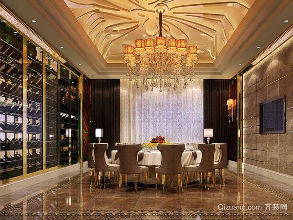 餐厅空间用什么灯