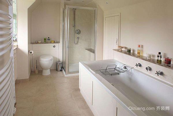 小卫生间淋浴房隔断方法