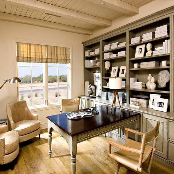 如何选择书房装修风格