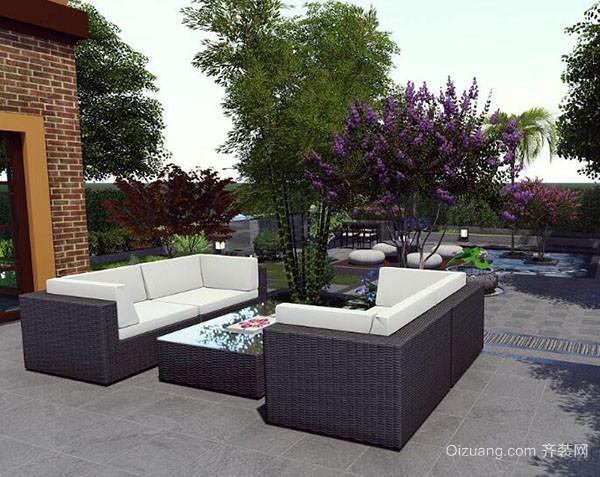 别墅花园设计风格分类及特点