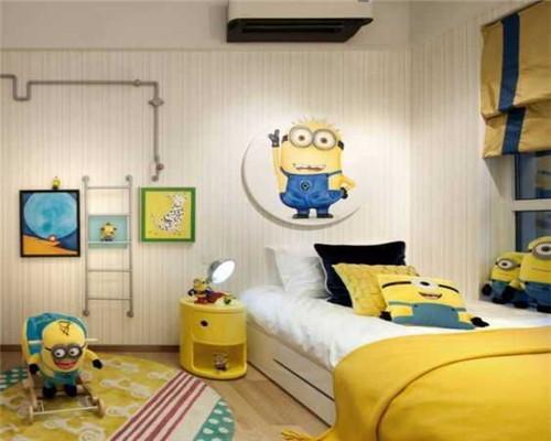 青岛儿童房装修设计效果图4
