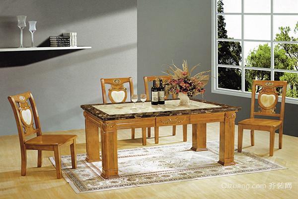 大理石餐桌好吗
