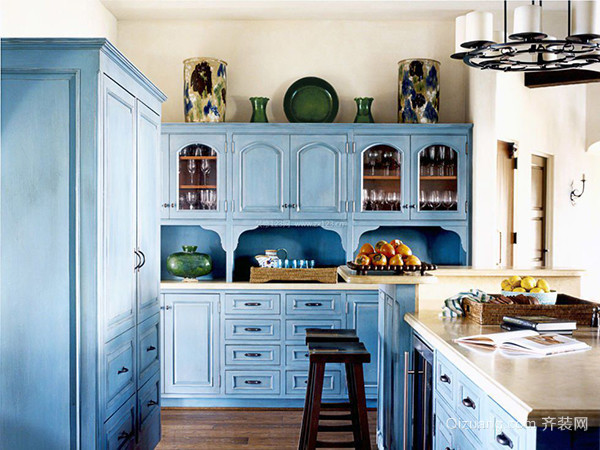 地中海风格厨房特点