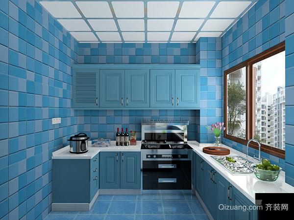 地中海风格厨房设计说明