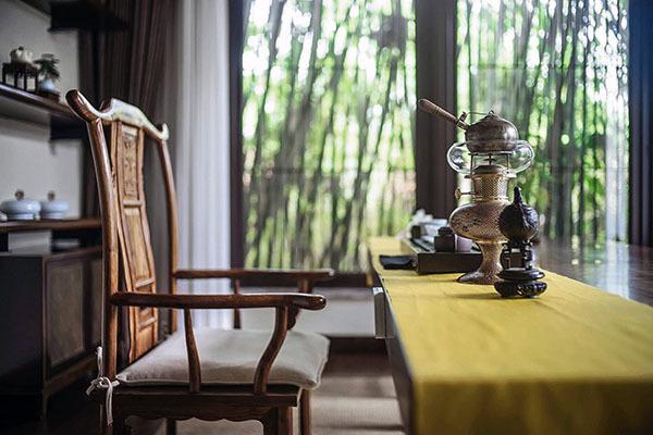 阳台茶室设计案例