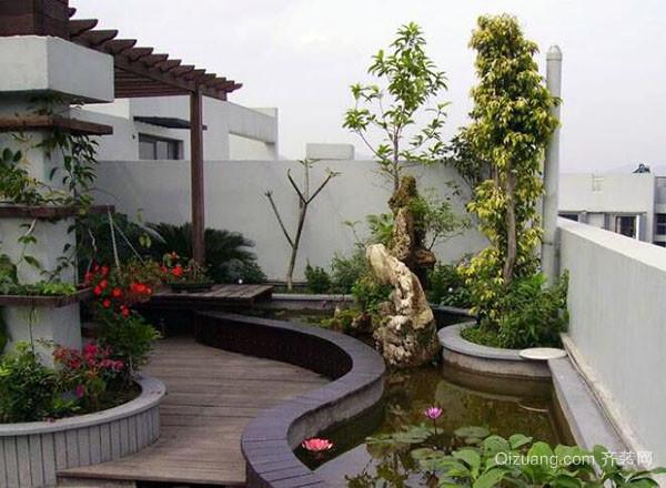 屋顶花园如何做防水
