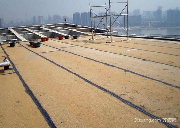 屋顶花园防水施工流程