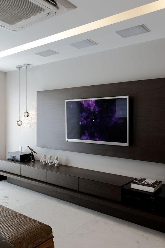 2018年推荐几款实用的电视背景墙设计附带效果图