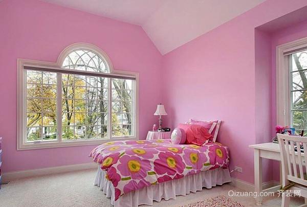 女孩儿童房设计风格