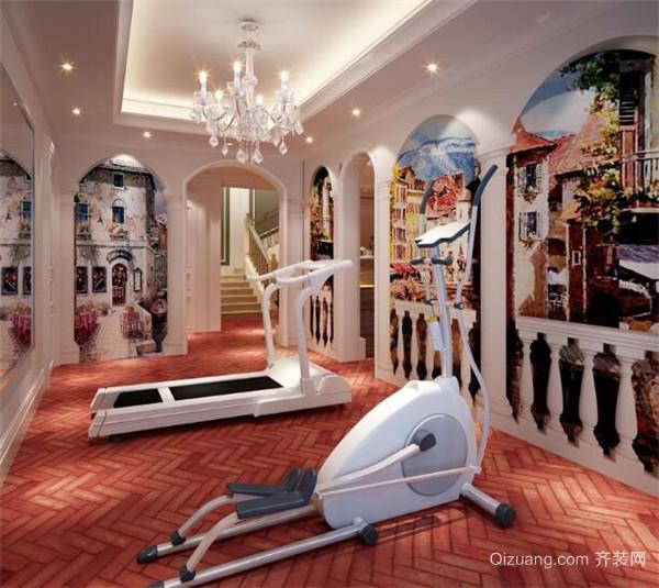 地下室怎么布置健身房