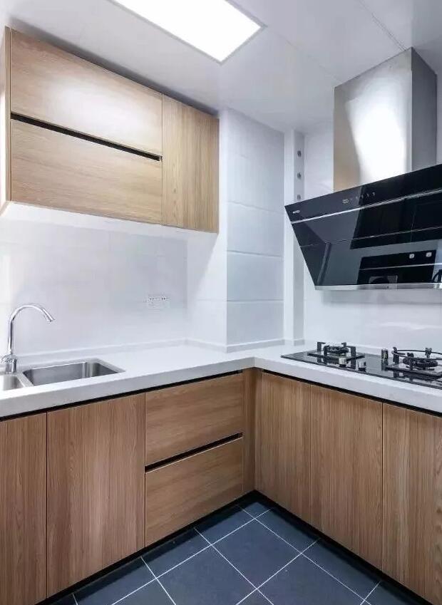 98㎡北欧风三居室厨房装修