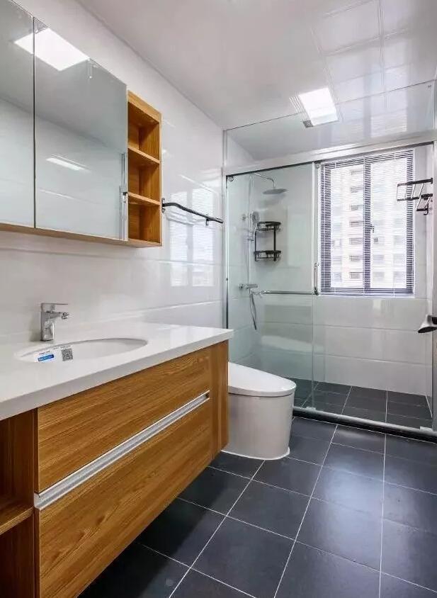 98㎡北欧风三居室卫生间装修