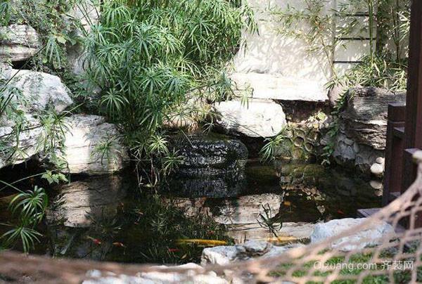 庭院鱼池什么形状最好