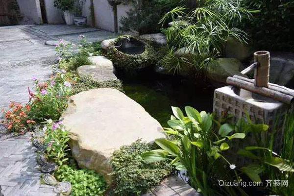 庭院鱼池设计风水方位