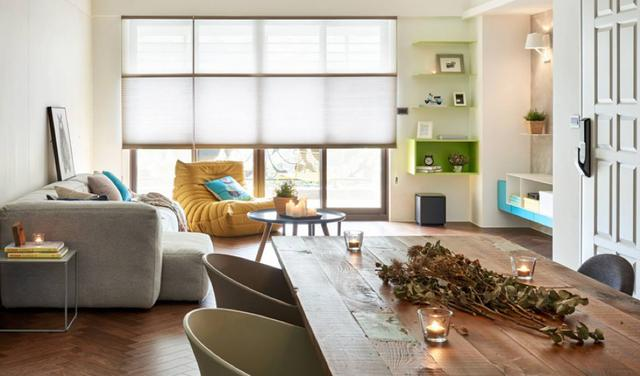 现代简约风格三居室客厅装修