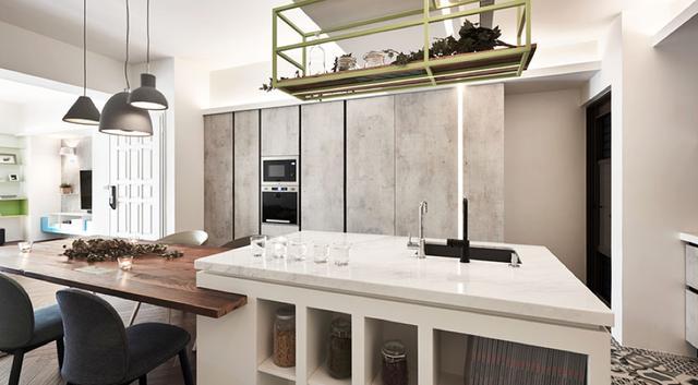 现代简约风格三居室餐厨装修