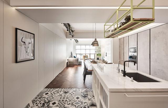 现代简约风格三居室餐厅装修