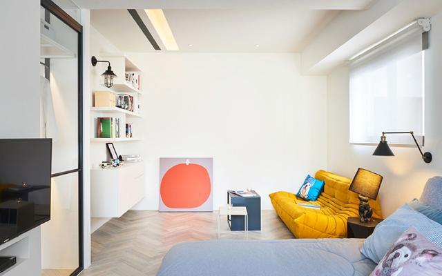 现代简约风格三居室阅读区装修
