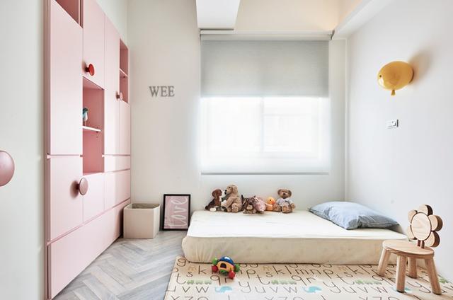 现代简约风格三居室次卧装修