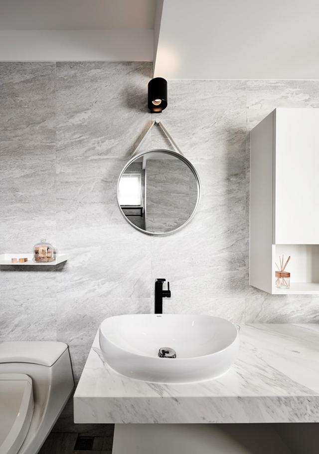 现代简约风格三居室卫生间装修