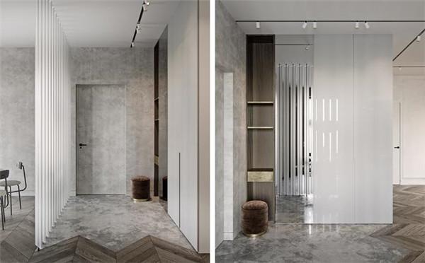 110平方米公寓装修案例 重金装修尽显轻奢