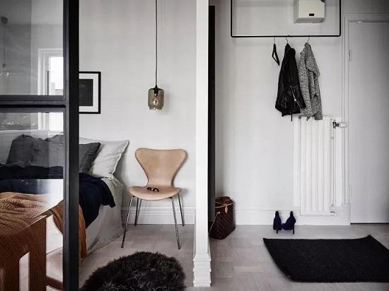 26平米的单身公寓的装修设计案例