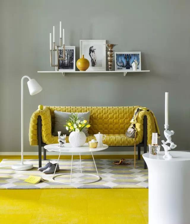 居室装修色彩搭配技巧 室内家具什么颜色好看