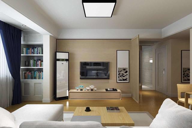 109平两室一厅装修效果图